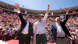 Los líderes echan el resto en el último fin de semana de campaña electoral