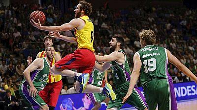 Baloncesto - Liga ACB. 33� jornada: Unicaja-FC Barcelona  - ver ahora