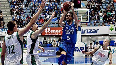 El Baloncesto Sevilla certificó la permanencia en la ACB para la próxima temporada tras imponerse en casa del Gipuzkoa Basket por 67-69, con un enorme partido de Willy Hernangómez, lo que obliga a los vascos a ganar la última jornada o depender de te