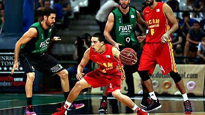 El FIATC Joventut ha ganado de forma contundente (77-54) al UCAM Murcia y ha conseguido de forma matemática la clasificación para los 'playoff' por el título después de cinco temporadas sin disputar estas eliminatorias.