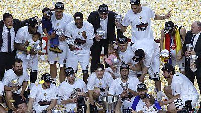 El Real Madrid gana la Euroliga 20 años después
