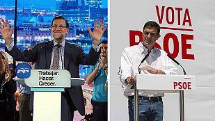 Rajoy y Sánchez se vuelcan en la campaña que entra en la recta final