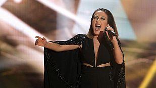 "Eurovisión 2015 - Semifinal 1 - Albania: Elhaida Dani canta ""I'm alive"""