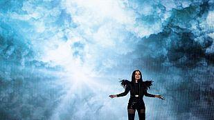"""Eurovisión 2015 - Semifinal 1 - Georgia: Nina Sublatti canta """"Warrior"""""""