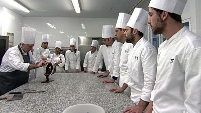 MasterChef 3 - Clase de chocolate en Basque Culinary Center