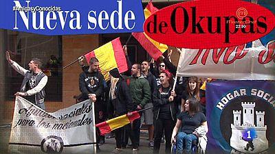 Okupas de ideolog�a extremista en uno de los mejores d barrios de Madrid