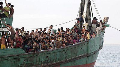 Malasia lanza una operación para rescatar a los refugiados rohinyás en alta mar