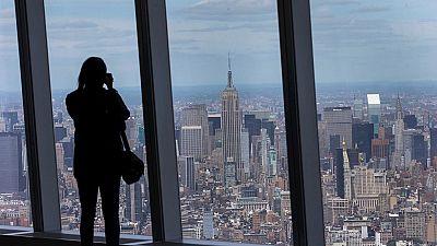 Se inaugura el mirador de la Torre de la Libertad, el ediifcio más alto de Nueva York