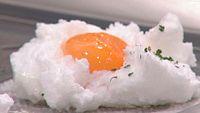 Huevos fritos esponjosos con chorizo