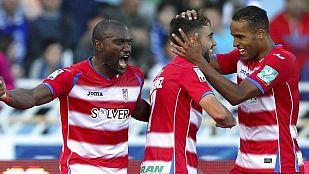 Granada, Deportivo, Eibar y Córdoba se juegan la permanencia
