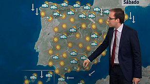 Continúa el viento fuerte en Galicia, Ampurdán, Estrecho y Canarias