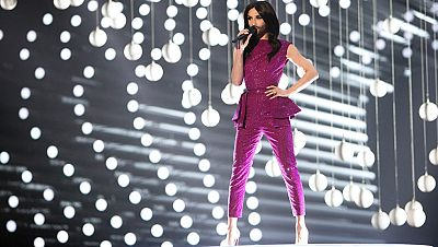Conchita Wurst inaugura el festival de Eurovisi�n 2015