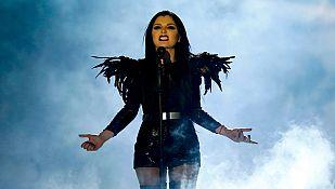 """Eurovisión 2015 - Georgia: Nina Sublatti canta """"Warrior"""""""