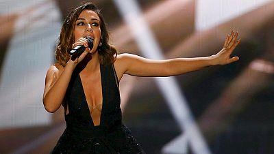 "Eurovisi�n 2015 - Albania: Elhaida Dani canta ""I'm alive"""