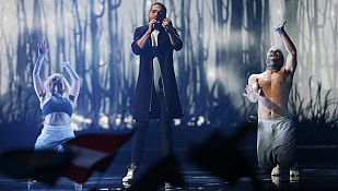 Eurovisión 2015 - Azerbaiyan: Elnur Huseynov canta 'Hour of the wolf'