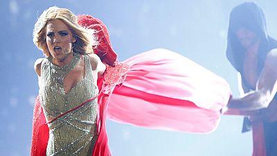 """Eurovisi�n 2015 - Espa�a: Edurne canta """"Amanecer"""""""