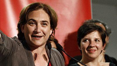 Ada Colau gana las elecciones municipales en Barcelona