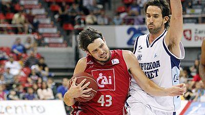 El Gipuzkoa Basket ha dicho adiós a la Liga Endesa al caer derrotado en Zaragoza frente al CAI, que se impuso por 72-65.