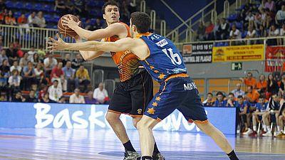 El Valencia Basket confirmó la quinta plaza definitiva en la liga regular en la cancha del Fuenlabrada, que se despidió con tristeza de la máxima categoría.