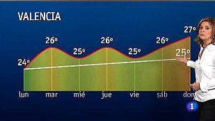 El tiempo en la Comunidad Valenciana - 25/05/15