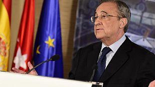 Florentino Pérez anuncia la marcha de Ancelotti