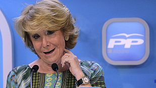 Aguirre ofrece un pacto al PSOE y Ciudadanos para que no gobierne Carmena, de Ahora Madrid