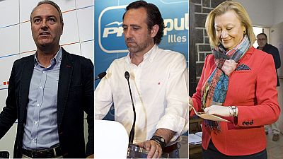 Fabra, Bauzá y Rudi dejarán la dirección del PP en los próximos meses por los resultados del 24M