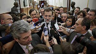 """Rajoy no descarta cambios en el PP y asegura que tomará decisiones """"poco a poco"""""""