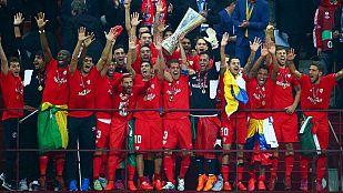 El Sevilla llevanta su cuarta Europa League