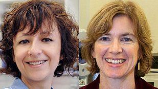 Las bioquímicas Charpentier y Doudna, premio Princesa de Asturias de Investigación 2015