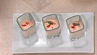 Tomates 'cherry' confitados a la menta y espuma expr�s de tomate