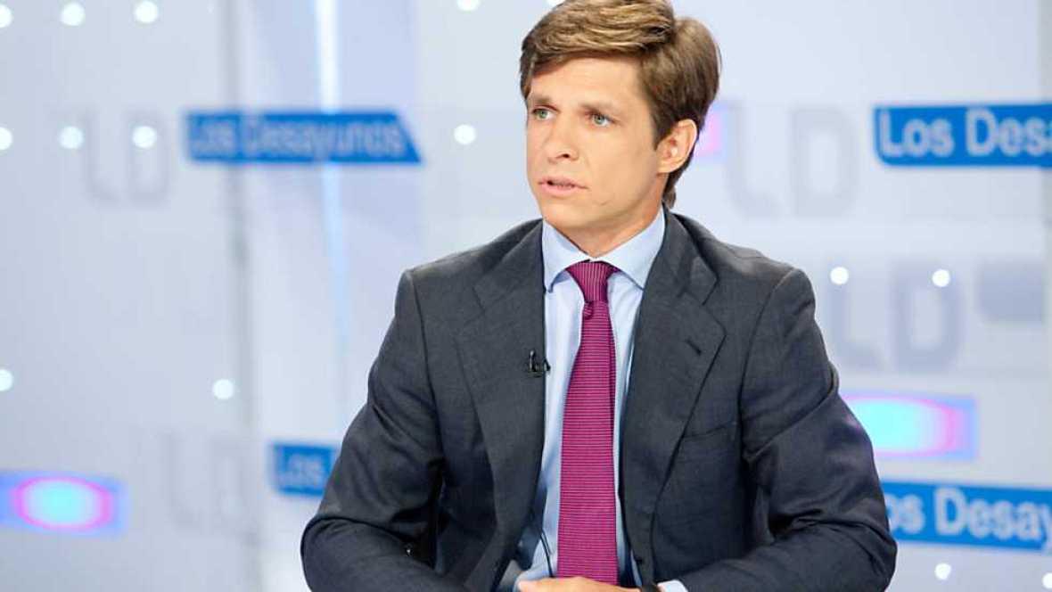 Los desayunos de TVE - Pedro Antonio Sánchez, candidato del Partido Popular a la presidencia de Murcia, y Julián López 'El Juli', torero - Ver ahora
