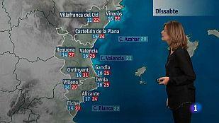 El tiempo en la Comunidad Valenciana - 29/05/15