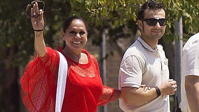 Isabel Pantoja sale de la cárcel con su primer permiso
