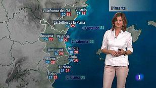 El tiempo en la Comunidad Valenciana - 01/06/15