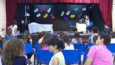 La compañía de Ópera 'Cobra', formada por niños, participa en un proyecto del Teatro Real
