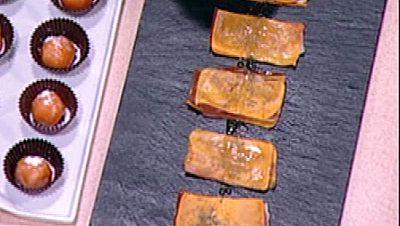 Yemas de Santa Teresa sin huevo y tortas de calabaza