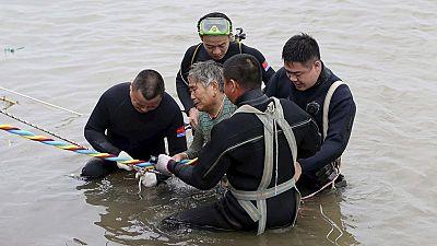 Se hunde un barco con más de 450 personas en el río Yangtsé en China