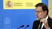 """Rajoy: """"Los datos de paro registrado demuestran que la recuperaci�n de la econom�a no es coyuntural"""""""