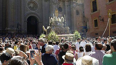 Diversas tradiciones marcan las celebraciones del Corpus Christi