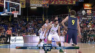 Baloncesto - Liga ACB. Play Off. Semifinales: FC Barcelona-Unicaja - Ver ahora
