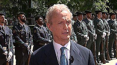 Morenés elogia a Felipe VI y justifica la lucha contra el yihadismo el Día de las Fuerzas Armadas