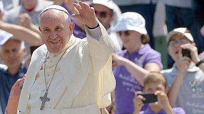 Recibimiento multitudinario al papa en Bosnia Herzegovina