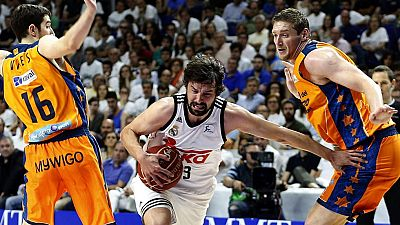 Real Madrid 89 - Valencia Basket 93