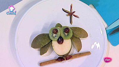 Cocina con Clan - Postre de b�ho de pera y kiwi