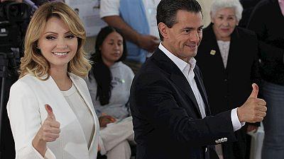 México da su apoyo a Peña Nieto en unas elecciones legislativas marcadas por la violencia