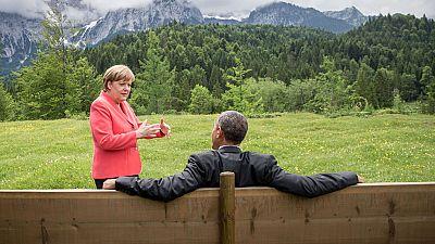 """Merkel advierte a Grecia de que """"no queda mucho tiempo"""" para lograr un acuerdo"""