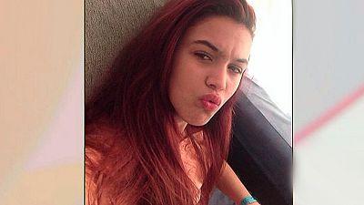 Menores desaparecidas: Caroline del valle y Mal�n Ortiz.