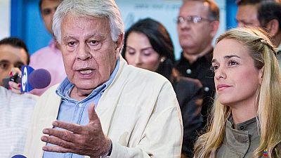 Felipe González deja Venezuela al no obtener permiso para ver a los opositores presos