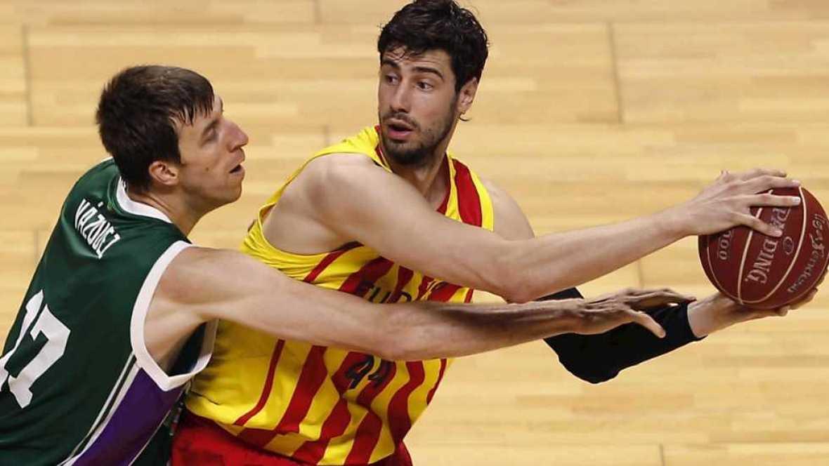 Baloncesto - Liga ACB. Play Off. Semifinales. 3er partido: Unicaja-FC Barcelona (1) - Ver ahora